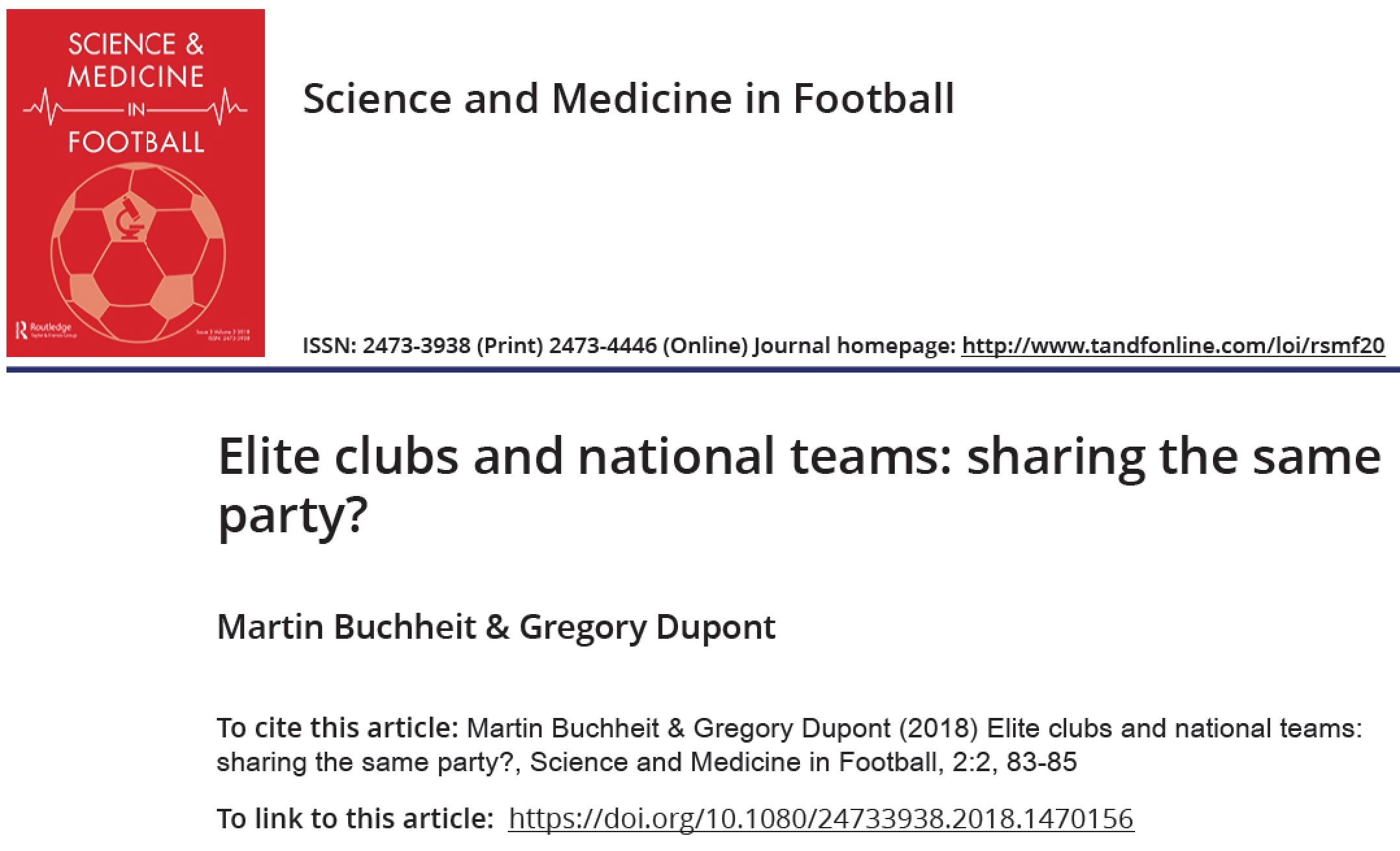 NT and Clubs